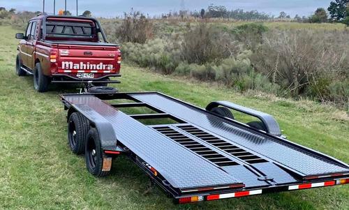 trailer chata autos 0km frenos eléctricos - 3 años garantía