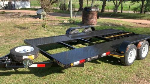 trailer chata para autos y camionetas 0km - 3 años garantía