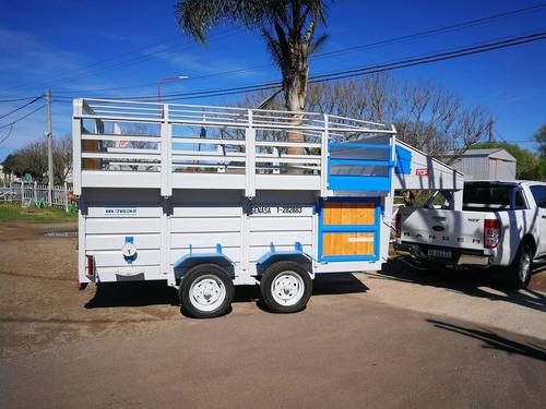 tráiler cigüeña para caballo de 4000x1800   tpea