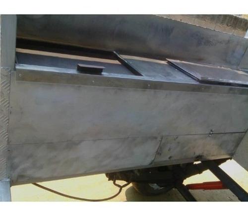 trailer  comida rápida en acero inoxidableyaluminio nuevo