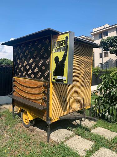 trailer comidas rápidas