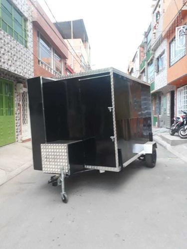 trailer comidas, remolque comidas