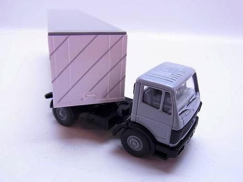 trailer  con contenedor escala 1/87 h0 wiking