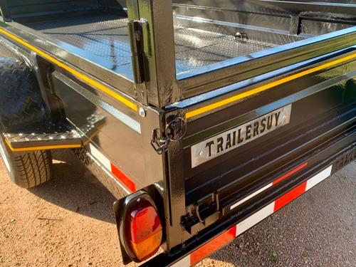 trailer con jaula multicarga nuevos 0km 3 años de garantía