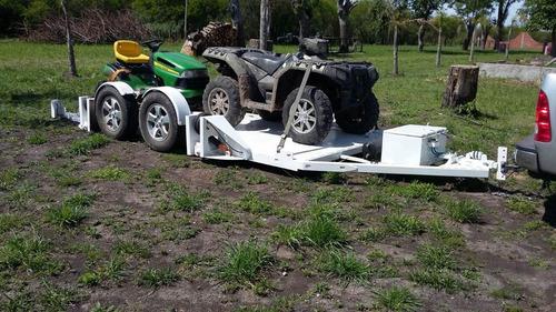trailer con suspensión neumática