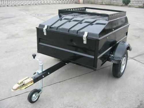 trailer con tapa de fibra multiuso - la casa del trailer