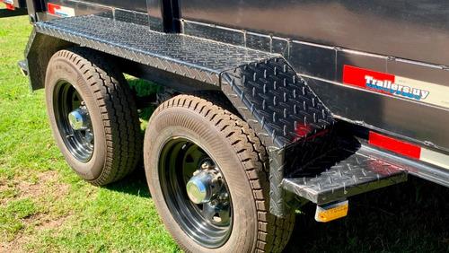 trailer con volcadora únicos nuevos 0km 3 años de garantía