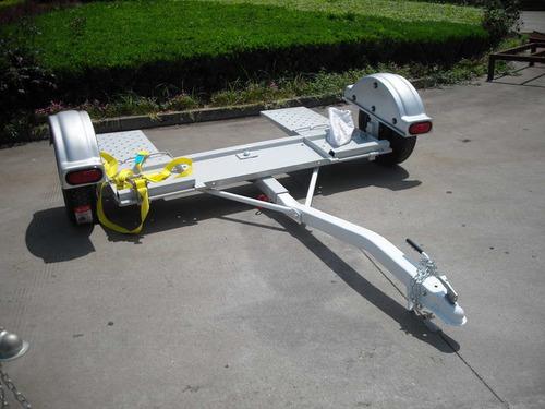 trailer copiador (dolly)p/autos c/frenos la casa del trailer