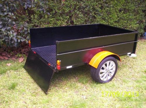 trailer cuatri karting moto
