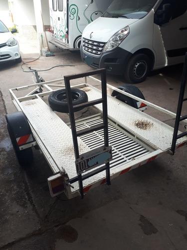 trailer cuatriciclo/moto/utv - marca náutica piu