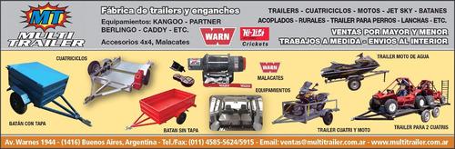 trailer cuatriciclos motos