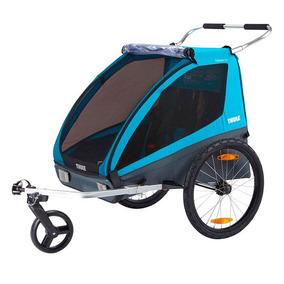 941b7150db Trailer De Bicicleta Para 1 Ou 2 Crianças Thule Coaster Xt