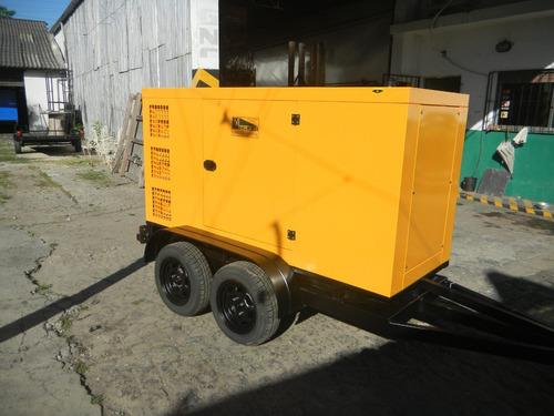 trailer de carga  para grupos electrogenos hasta 1800 kg