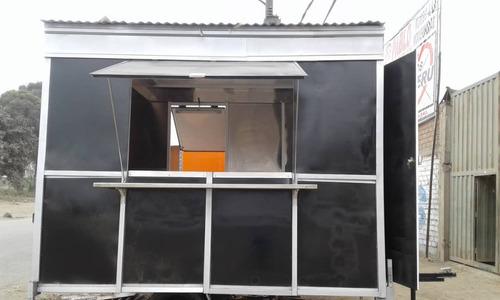 trailer de comida food truck nuevo