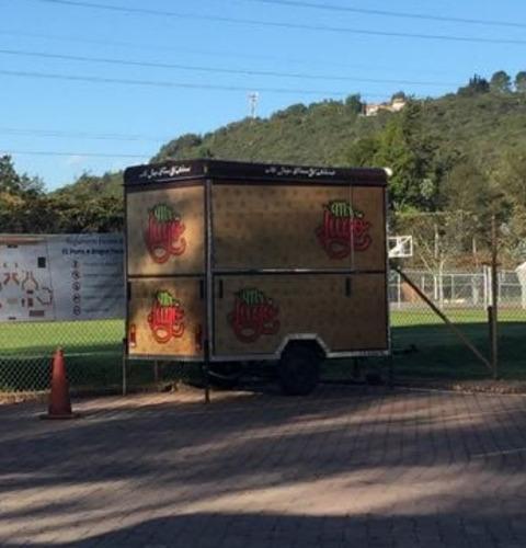 trailer de comida - jugos - precio negociable