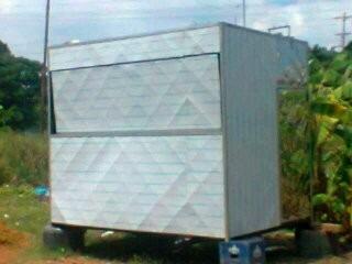 trailer de comida rapida,tambien cambio por carro