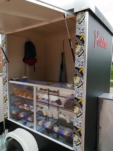 trailer de comidas, food truck