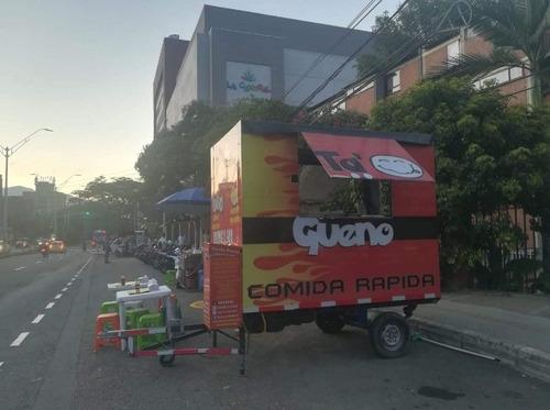 trailer de comidas rápida