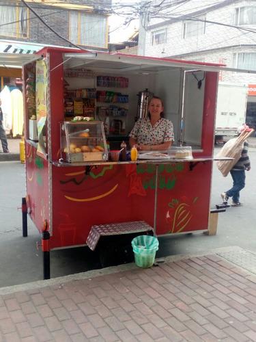 trailer de comidas rapidas