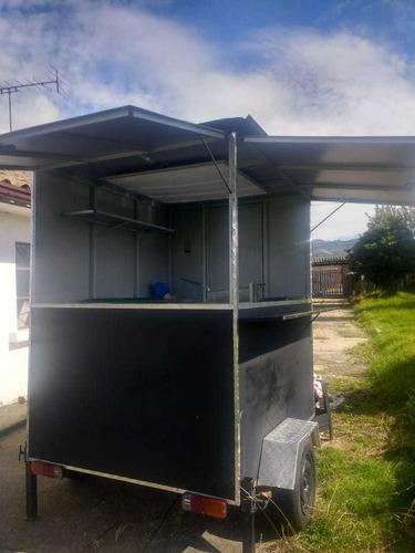 trailer de comidas rápidas