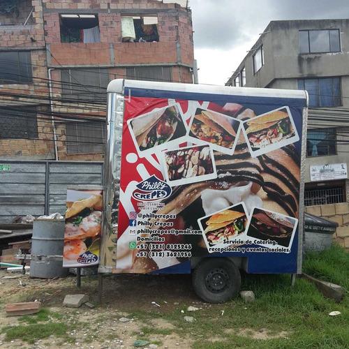 tráiler de comidas renta y/o venta