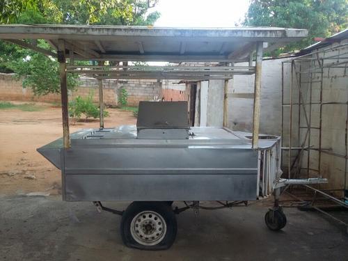 trailer de perro caliente