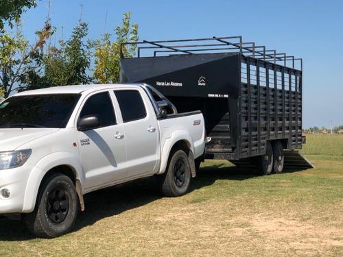 trailer de polo 12 caballos
