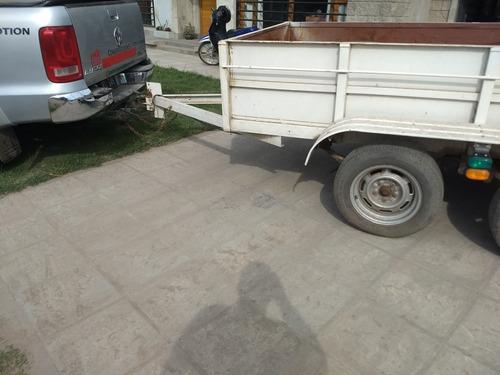trailer doble eje balancín cap de carga 2500kg