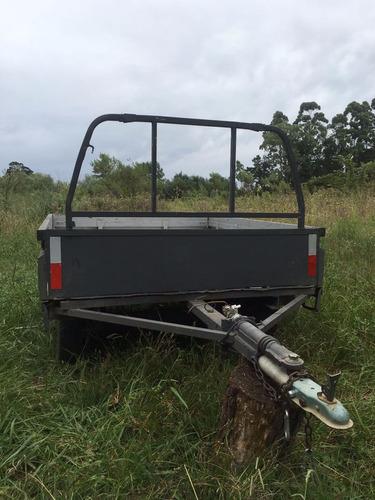 trailer doble eje para todo tipo de carga