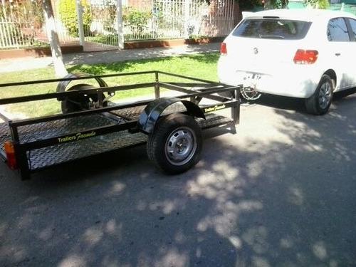 trailer doble facundo  cuatris,motos,utv,  stock permanente