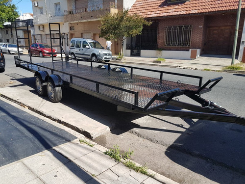 trailer dos utv can-am  polaris yamaha