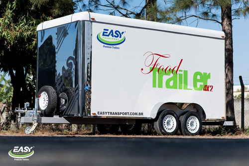 trailer easy transport - food truck, food trailer 2.0