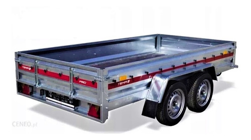 trailer en aluminio para 750 kg