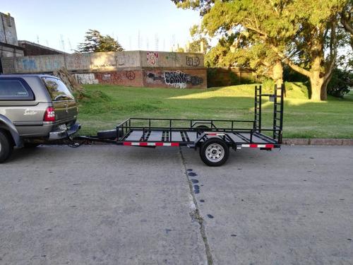 trailer familiar y carga.  alquiler desde 6 horas