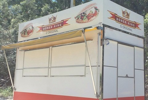 trailer food novo 4 x 2 metros!