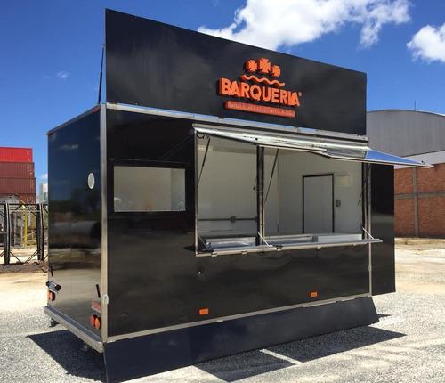 trailer food truck -