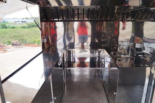 trailer food truck 3mx2m com freio - 10x s/ juros no cartão