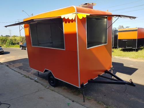 trailer food truck