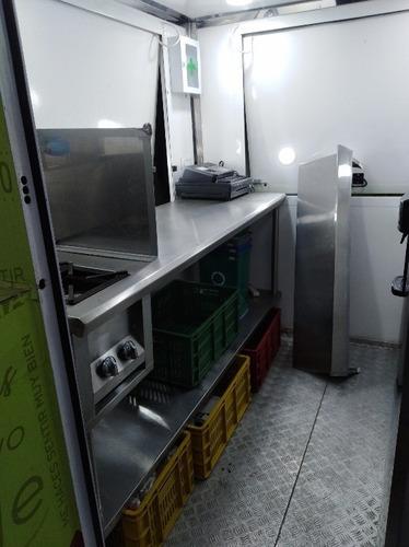trailer food truck bogotá comidas rápidas listo producir