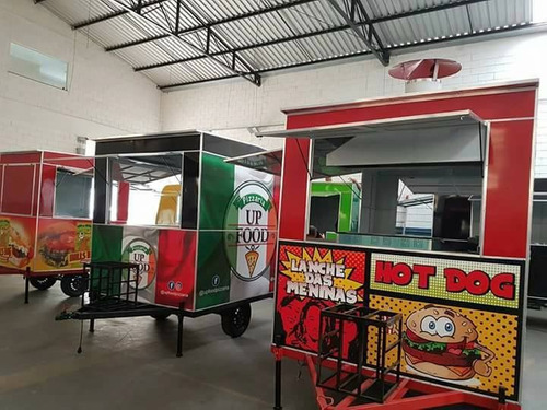 trailer food truck camptrailer à partir r$ 4.500,00 entrada