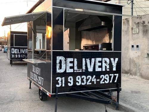 trailer food truck carretinha