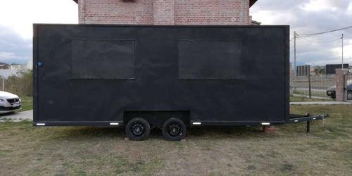 trailer food truck/ casilla rodante