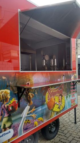 trailer food truck direto da fábrica - camptrailer