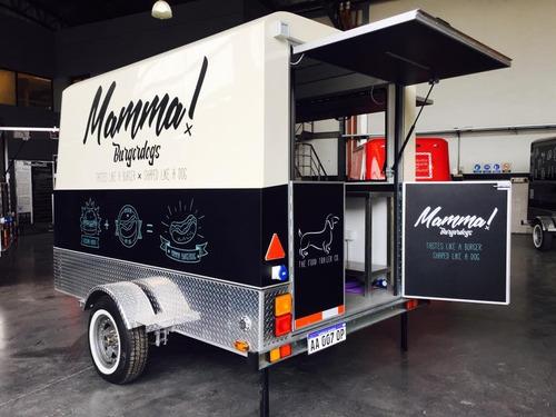 trailer food truck gastronómico personaliza tu diseño