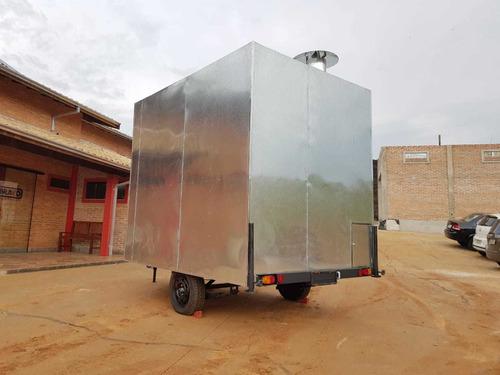 trailer food truck joy 2.60mx2m -10 x sem juros no cartão