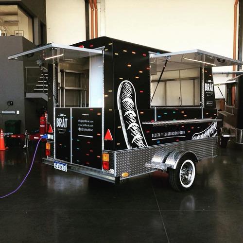 trailer food truck mactrail linea monterrey 100 full