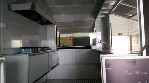 trailer food truck novo direto da fábrica - camptrailer