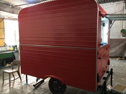 trailer food truck p/ churrasco / espetinhos churrasqueira