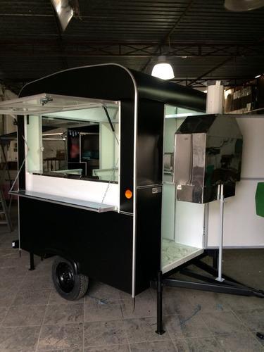 trailer food truck - para churrasco / espetinho - 2018 novo