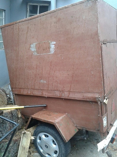 trailer furgon vendo ideal feriantes